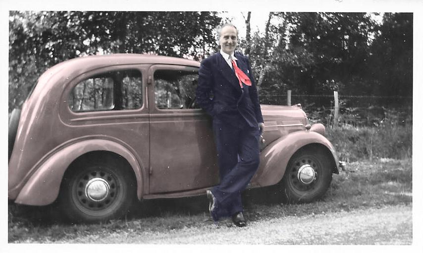 1955()-Ken-suit+car-(in-colour)
