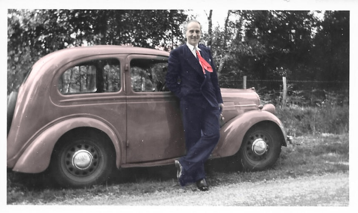 1955()-Ken-suit+car-(in-colour)