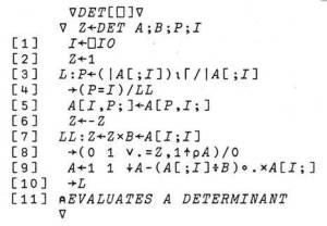 APLcode