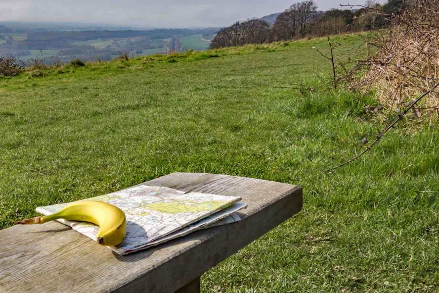 Snack on North Downs