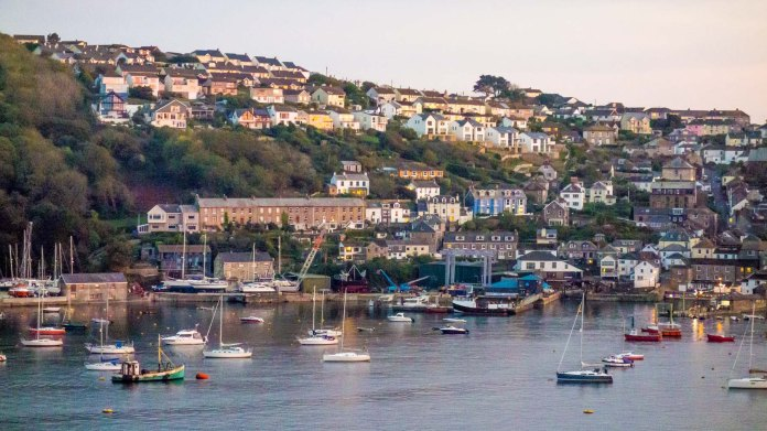 Cornwall Oct2017_0150 Fowey at night