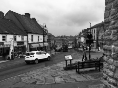 B & W Pickering on a grey day