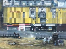 Tracy Savage painting