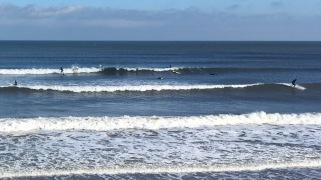 Scarborough surfers