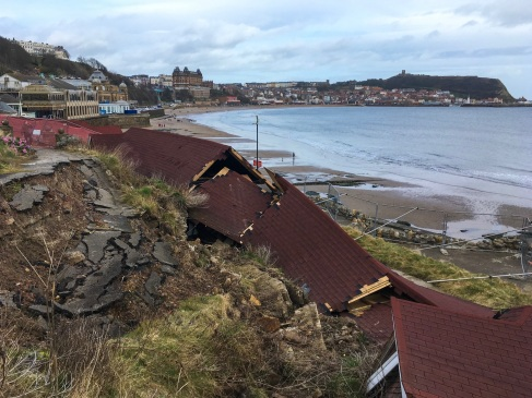 Scarborough cliff collapse