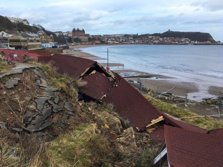 Scarborough cliff collapse