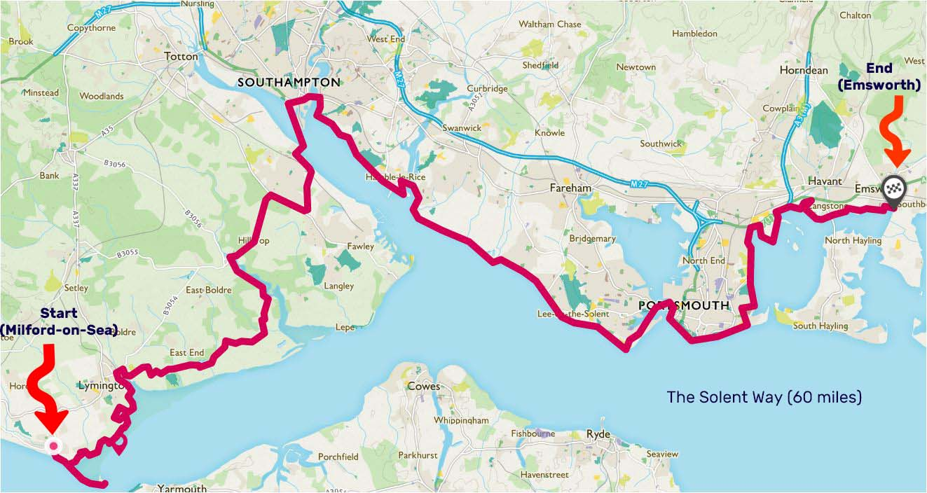 The Solent Way – things change